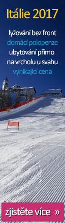 lyžování v Tarvisiu v Itálii